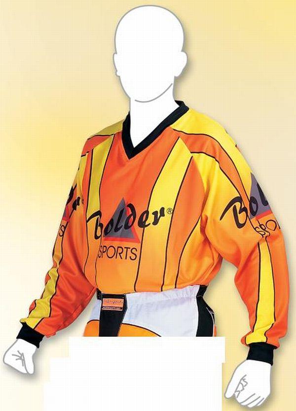 Motocross Shirt  Farbe: orange . Größe: M bis XXL