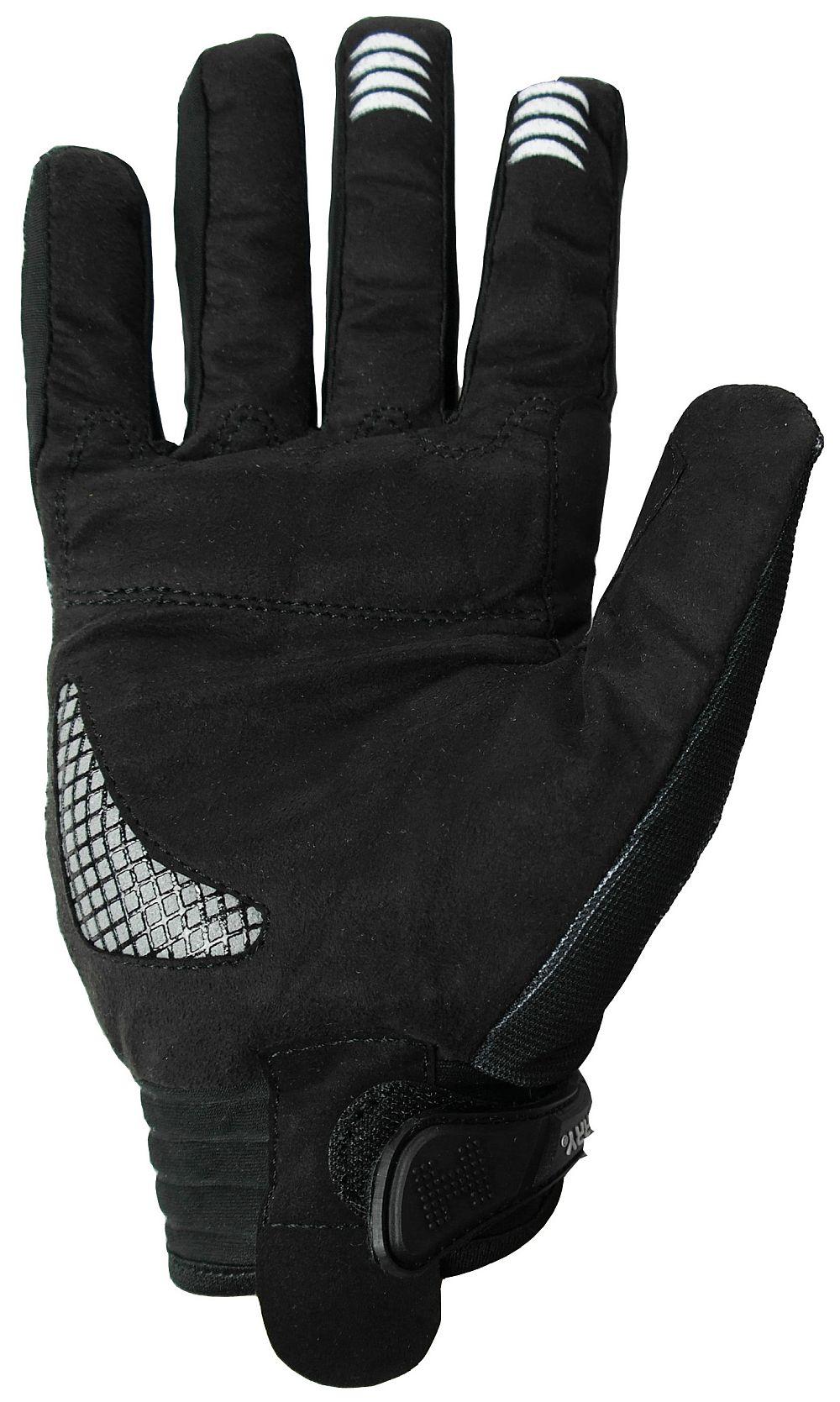 Heyberry Motocross Enduro MX Handschuhe schwarz weiß Gr. M - XXL