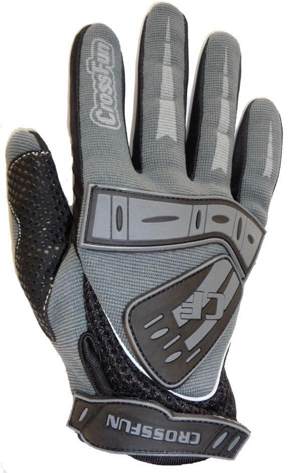 Motocross Handschuhe Farbe: grau . Größe: M -XXL