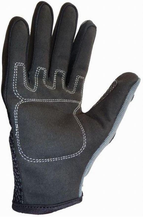 Kinder Motocross Handschuhe grau Größe 5 - XS