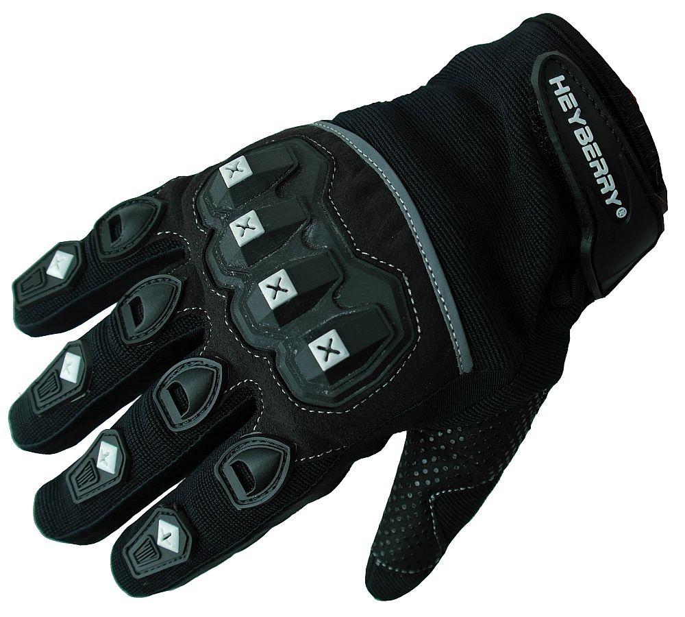 Heyberry Motocross Offroad MTB MX Handschuhe schwarz Gr. S - XXL