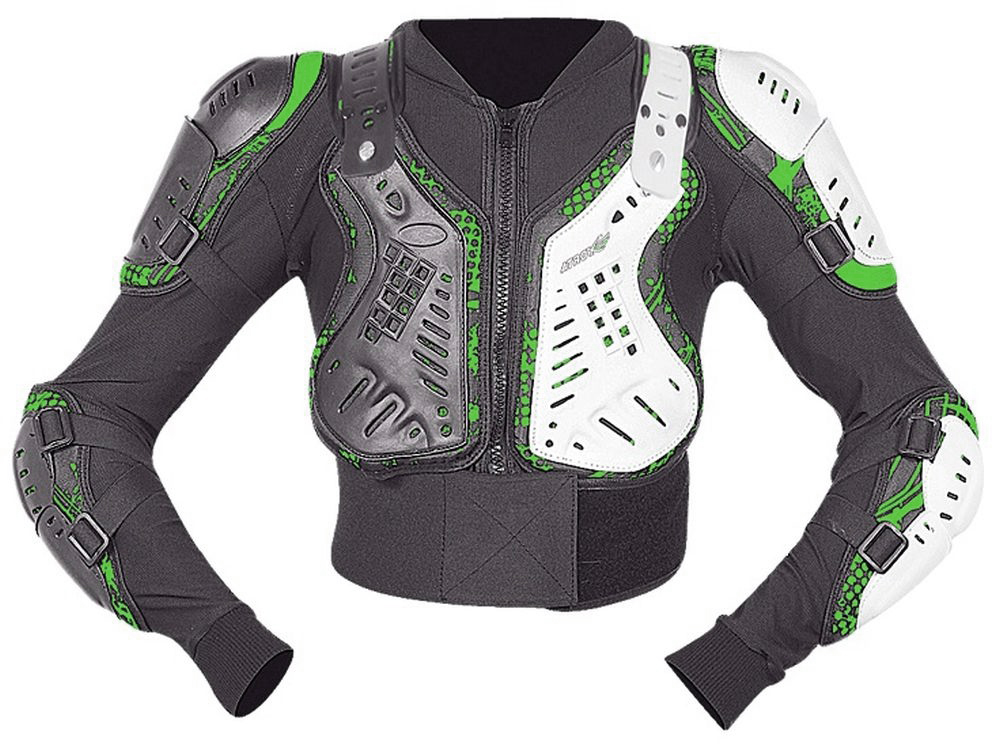 Motocross Protektoren Jacke Brustpanzer für Kinder 7 bis 10 Jahre