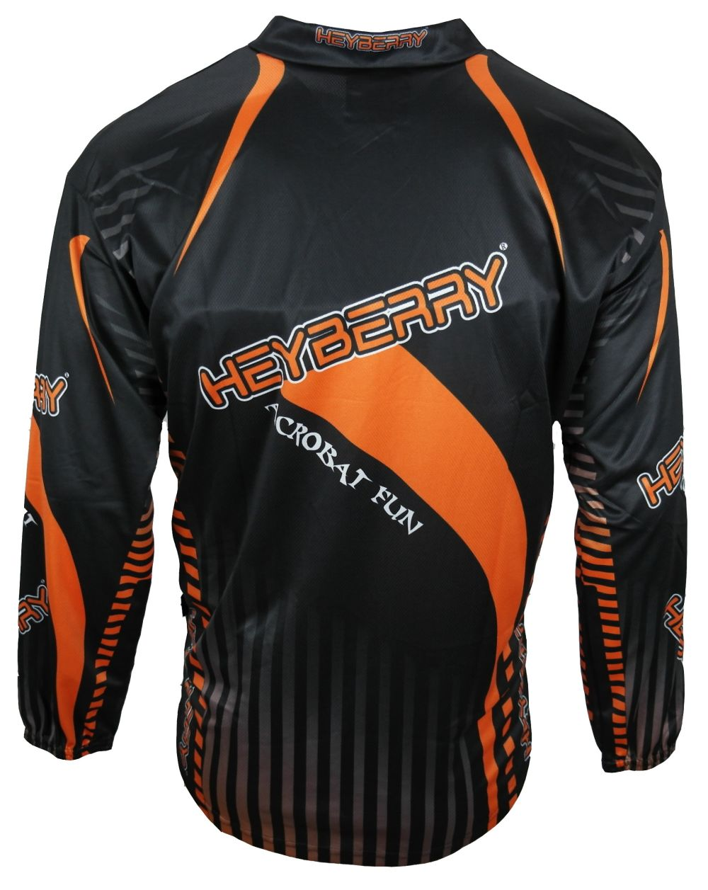 Heyberry Motocross MX Shirt Jersey Trikot schwarz orange Größe M L XL XXL