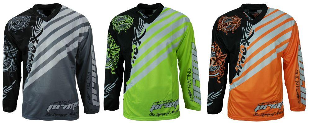 Heyberry Motocross MX Shirt Jersey Trikot schwarz grün Größe M