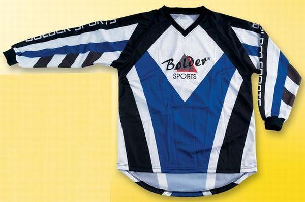 Motocross Shirt  Farbe: blau . Größe: M bis XXL