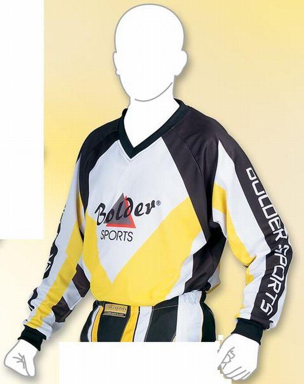 Motocross Shirt  Farbe: gelb . Größe: M bis XXL