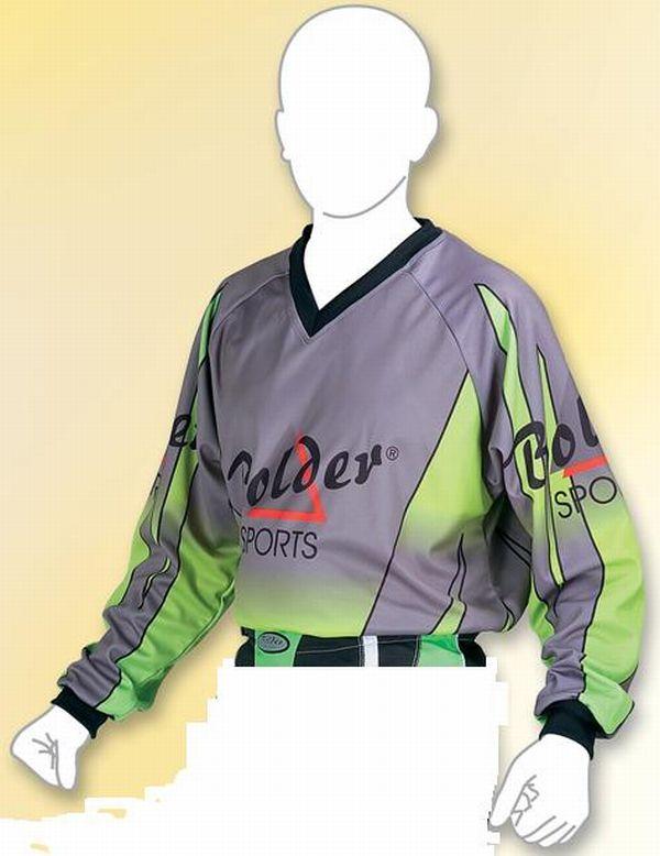 Motocross Shirt  Farbe: grün . Größe: M bis XXL